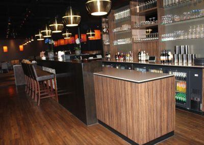 Bar van Chinees restaurant