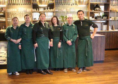 Personeel van Chinees restaurant Utrecht