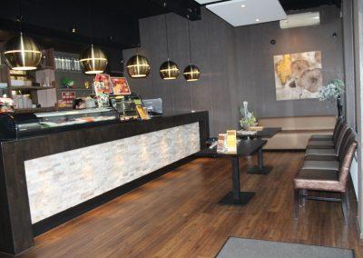 Wachtruimte chinees restaurant
