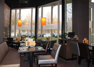 Buitenzicht restaurant