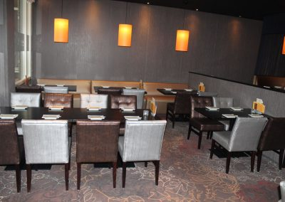 Restaurant indeling