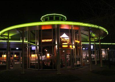 Linker restaurant foto
